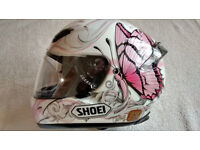 Ladies Motorcycle Helmet By Shoei
