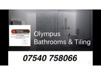 Olympus Bathrooms & Tiling. Fitters. Installation .Wall & Floor tiler