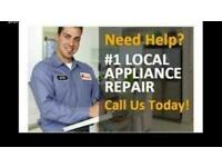 LOGICAL APPLIANCE + WASHING MACHINE Repairs NO CALL OUT FEE 30 years Experience