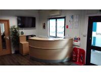 Large reception desk / counter
