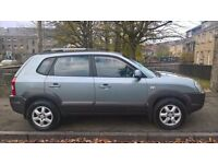 Hyundai Tucson CRTD CDX 2.0 2005 (05)**Diesel**4x4**Long MOT**Winter Is Coming**Only £1895