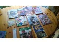 Craft Books & Cross Stitch Magazines
