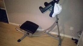 Ab coaster fitness equipment