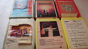 1960's 8 track cassettes