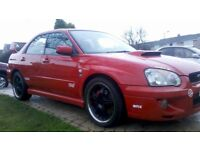 SUBARU INPREZA WRX AWD 275BHP 18 INCH SPLITRIM ALLOYS 4X4 STI KIT 2003 SUPERBARGAIN 3000 NO OFFER