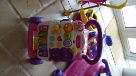 Various Baby toys, apart from walker all in mint condition and hardly used. Make me an offer.
