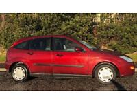 CHEAP FORD FOCUS 1.6L LX (2001) low 58,000miles 5 door year mot,