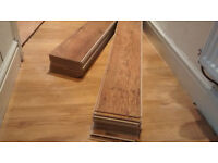 Laminate flooring (factory seconds, see description)