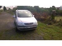 Opel Zafira Silver 2004