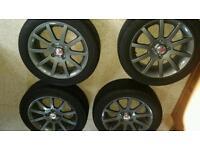 Toyota yaris sr alloy wheels