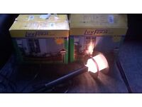 LOVELY SETS OF LOW WATTAGE GARDEN LIGHTS LANTERNS NEW IN BOXES