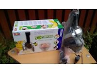 UNUSED GIFT BOXED PIFCO 10in1 STEAMER/YONANAS BOXED ICE-CREAM MAKER/KITCHE&LAUNDRY BASKETS/TRAYS++