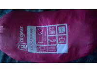 Child's pink sleeping bag