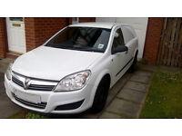 Vauxhall ASTRA VAN 1.3 CDTi, 57 plate (2007), 111,000 miles, FSH, MOT