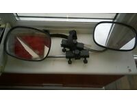 Caravan towing mirrors