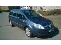7 SEATER CAR, 2009 VAUXHALL ZAFIRA 1.9 CDTI, MOT TILL JUNE 2019