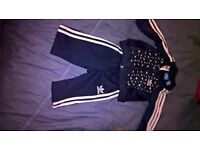 addidas tracksuit 0/3 months
