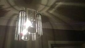 Beautiful glass lampshade