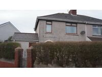 3 BEDROOM SEMI DETACHED HOUSE, ABERAVON PORT TALBOT (FREEHOLD)