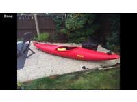 Prijon whitewater kayak canoe