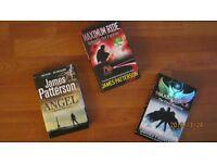 JAMES PATTERSON BOOKS BUNDLE