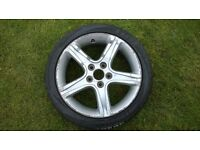 lexus is200 alloy wheel with tyre 215 45 17