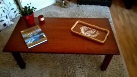 Coffee Table in a nice cherry Wood.