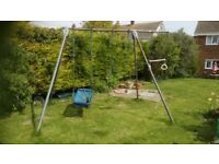 FREE TP Double Swing with extension pole and baby seat