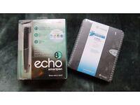 Livescribe Echo Smartpen 8GB; Livescribe Ruled A5 Notebook x 4; Livescribe A4 Ruled Notebook x4