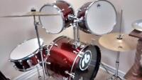 Congas and set drum