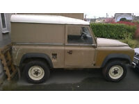 Early Land Rover 90,Unmolested,Perfect restoration or export