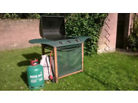 Winchester 3 burner Gas Barbecue (BBQ) and gas bottle