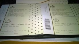 Ascot tickets queen anne enclosure champagne tea for 2 great for a proposal !