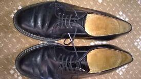 Loake men's formal shoes, black UK 8.5