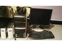 Packard Bell with accessories,2GB RAM,750 HDD,Intel Core2 Duo 2.20Ghz,Radeon X300/X550/X1050 series