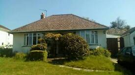 Large bright room to rent in quiet bungalow on the western edge of Bodmin.