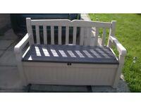Keter bench storage box - NEW