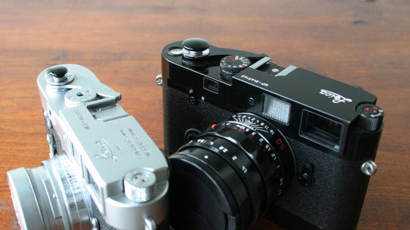 Black Standard 15mm Soft Release Button for Leica M2 M3 M6 MP M8 M9 Nikon Canon
