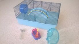 HAMSTER CAGE AND ACCESSORIES [RODENT, PET, RAT]