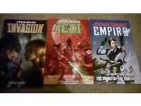 3x star wars comics