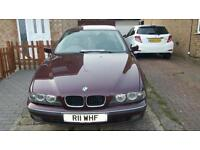 Bmw E39, 523i , Red colour, Automatic in very good condition, limited edition , £950