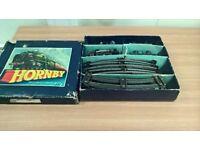 hornby clockwork o guage train set