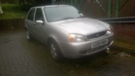 ford fiesta 5dr 1.3.
