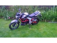 Lexmoto Venom 125 cc 2016. 6300 miles. learner legal Rides as new