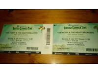 2 x tickets to TOM PETTY & THE HEARTBREAKERS at Hyde Park London 09.07.17