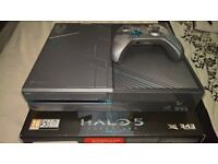 Limited edition Halo 5 Xbox one 1TB +6 games