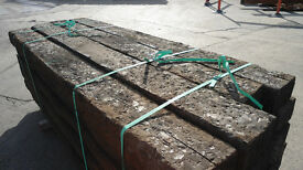 Reclaimed Authentic Railway Sleeperers - Treated - Plenty in Stock! £21+vat each