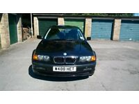 BMW 316 BLACK SALOON *FULL SERVICE HISTORY/LADY OWNER