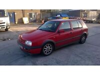 Mk3 golf GTi 5 door good condition, service history, lowered, stainless exhaust, Price reduced