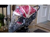 Rain cover for Baby Jogger buggy/ pram